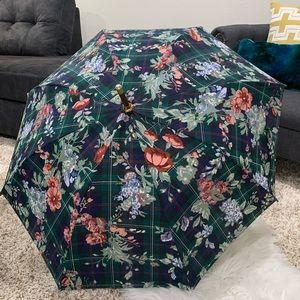 Lauren Ralph Lauren vintage green flora umbrella